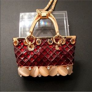 Tote Bag Necklace